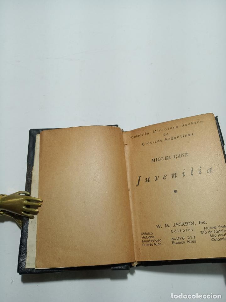 Libros antiguos: Colección de 8 tomos de la colección Jackson de clásicos Argentinos. 1944. Raro. En estantería. - Foto 25 - 191726506