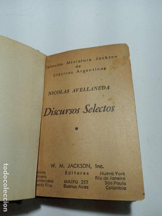 Libros antiguos: Colección de 8 tomos de la colección Jackson de clásicos Argentinos. 1944. Raro. En estantería. - Foto 28 - 191726506