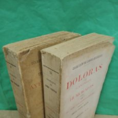 Libros antiguos: OBRAS COMPLETAS 2 TOMOS ( RAMÓN DE CAMPOAMOR - 1893 ). Lote 191740390