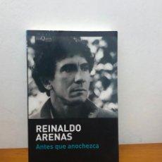 Libros antiguos: LIBRO REINALDO REYNALDO ARENAS ANTES QUE ANOCHEZCA BIOGRAFIA AUTOBIOGRAFIA LITERATURA CUBANA CUBA . Lote 191877227