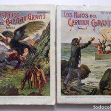 Libros antiguos: LIBRERIA GHOTICA. JULIO VERNE. LOS HIJOS DEL CAPITAN GRANT. 1930. 2 TOMOS. FOLIO.. Lote 192015396