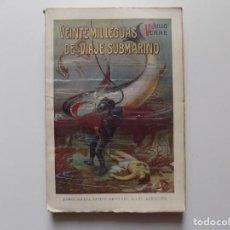 Libros antiguos: LIBRERIA GHOTICA. JULIO VERNE. VEINTE MIL LEGUAS DE VIAJE SUBMARINO.1930. FOLIO.. Lote 192016490
