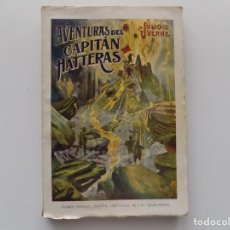 Libros antiguos: LIBRERIA GHOTICA. JULIO VERNE. AVENTURAS DEL CAPITAN HATTERAS. 1930. FOLIO.. Lote 192091145