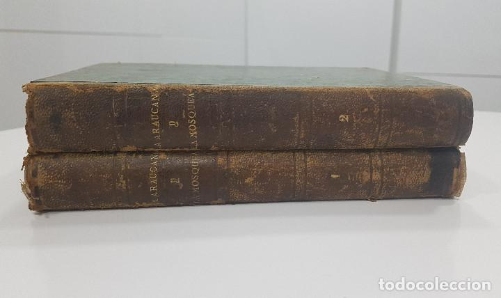Libros antiguos: 1861. A. de Ercilla LA ARAUCANA con José de Villaviciosa LA MOSQUEA (Sigüenza, Guadalajara). 2 tomos - Foto 11 - 193115678