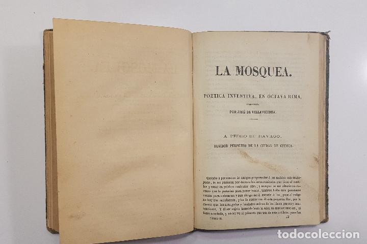 Libros antiguos: 1861. A. de Ercilla LA ARAUCANA con José de Villaviciosa LA MOSQUEA (Sigüenza, Guadalajara). 2 tomos - Foto 8 - 193115678