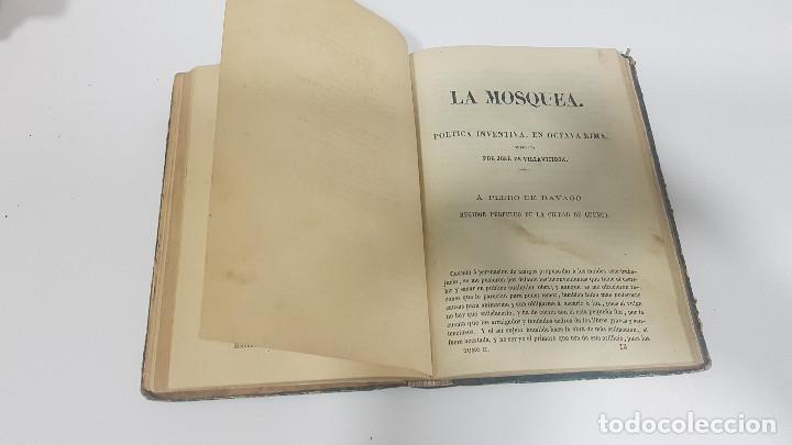 Libros antiguos: 1861. A. de Ercilla LA ARAUCANA con José de Villaviciosa LA MOSQUEA (Sigüenza, Guadalajara). 2 tomos - Foto 9 - 193115678