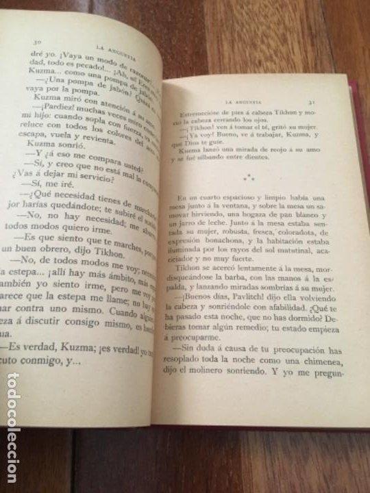 Libros antiguos: GORKI, MÁXIMO - LA ANGUSTIA. TRADUCCIÓN DE AUGUSTO RIERA - LUIS TASSO C. 1900 - 1ª ED. - Foto 2 - 193411826