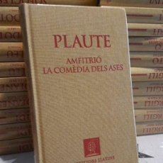 Libros antiguos: PLAUTE AMFITRIÓ LA COMEDIA DELS ASES. Lote 193657927