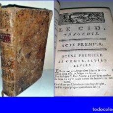 Libros antiguos: AÑO 1771: EL CID, POR CORNEILLE.. Lote 193834963