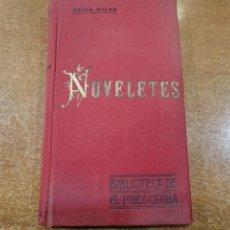 Libros antiguos: NOVELETES. OSCAR WILDE. BIBLIOTECA DE EL POBLE CATALA. 1906. Lote 193940091