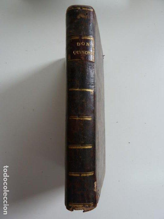Libros antiguos: EL INGENIOSO HIDALGO DON QUIXOTE DE LA MANCHA. CERVANTES. TOMO V. VIUDA DE IBARRA. MADRID 1787 - Foto 3 - 194080860