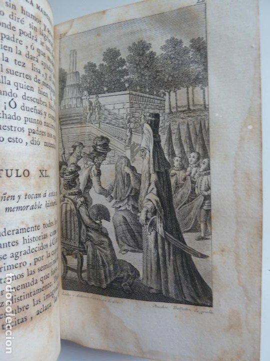 Libros antiguos: EL INGENIOSO HIDALGO DON QUIXOTE DE LA MANCHA. CERVANTES. TOMO V. VIUDA DE IBARRA. MADRID 1787 - Foto 6 - 194080860