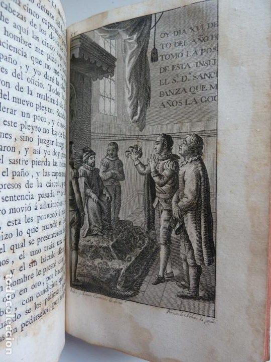 Libros antiguos: EL INGENIOSO HIDALGO DON QUIXOTE DE LA MANCHA. CERVANTES. TOMO V. VIUDA DE IBARRA. MADRID 1787 - Foto 7 - 194080860