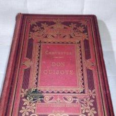 Libros antiguos: ~~~~ BELLISIMA EDICION DE DON QUIJOTE CON ILUSTRACIONES, 1878, GARNIER HERMANOS - PARIS. ~~~~. Lote 194202371
