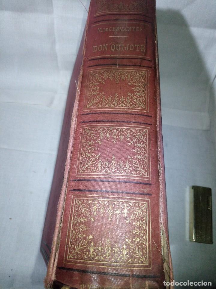 Libros antiguos: ~~~~ BELLISIMA EDICION DE DON QUIJOTE CON ILUSTRACIONES, 1878, GARNIER HERMANOS - PARIS. ~~~~ - Foto 2 - 194202371