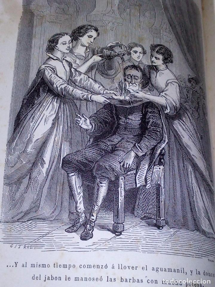 Libros antiguos: ~~~~ BELLISIMA EDICION DE DON QUIJOTE CON ILUSTRACIONES, 1878, GARNIER HERMANOS - PARIS. ~~~~ - Foto 5 - 194202371