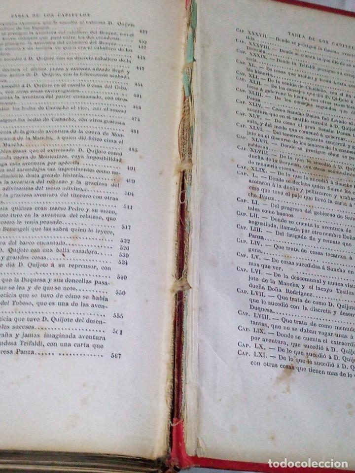 Libros antiguos: ~~~~ BELLISIMA EDICION DE DON QUIJOTE CON ILUSTRACIONES, 1878, GARNIER HERMANOS - PARIS. ~~~~ - Foto 6 - 194202371