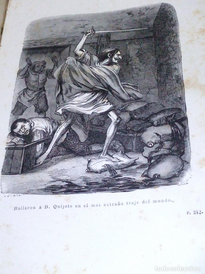 Libros antiguos: ~~~~ BELLISIMA EDICION DE DON QUIJOTE CON ILUSTRACIONES, 1878, GARNIER HERMANOS - PARIS. ~~~~ - Foto 7 - 194202371