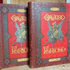 Livres anciens: L.ARIOSTO ORLANDO FURIOSO ILUSTRADO POR DORE 1ª EDICION FONT Y TORRENS BARCELONA 1883 EN 2 TOMOS. Lote 194246253