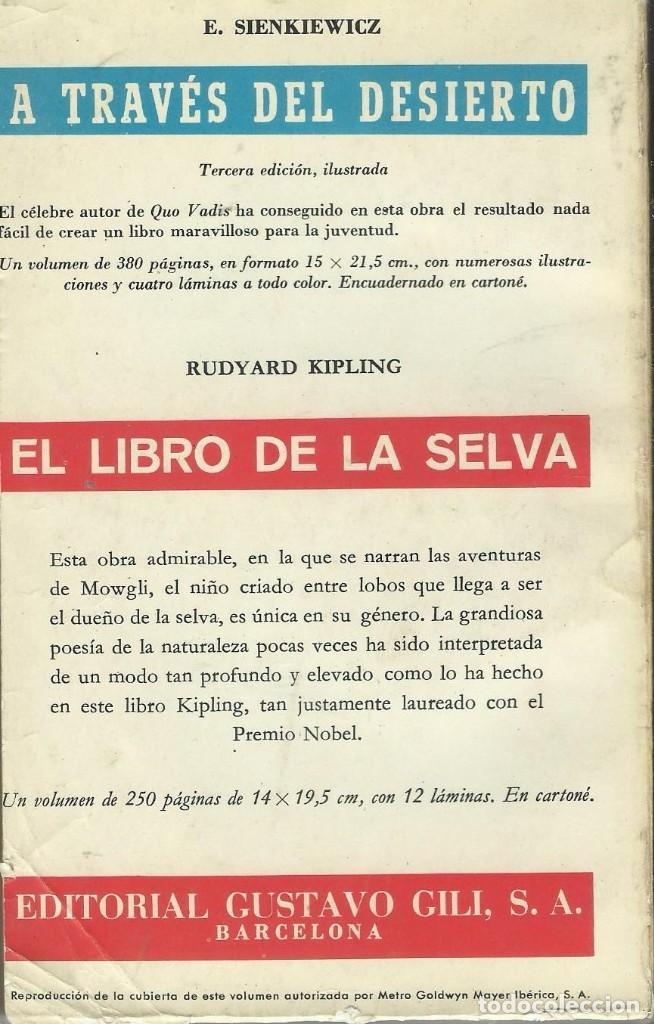Libros antiguos: TARZAN EL GRAN JEQUE - Foto 2 - 194253733