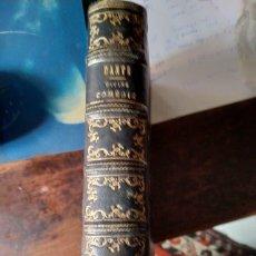 Libros antiguos: DANTE ALIHIERI- LA DIVINE COMEDIE & LA VIE NOUVELLE. 1854. Lote 194278682