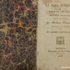 Libros antiguos: LA HADA BENÉFICA.. Lote 194318063