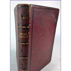 Libros antiguos: LIBRO ANTIGUO DE LORD BYRON SIGLO XIX?. Lote 194337343