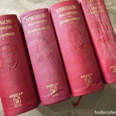 Libros antiguos: B.PEREZ GALDOS OBRAS COMPLETAS I,II,III Y CHARLES DICKENS OBRAS COMPLETAS II. Lote 194514108