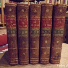 Libros antiguos: GIL BLAS DE SANTILLANA. 1817. 5 TOMOS. LÁMINAS. Lote 194517307