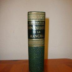 Libros antiguos: DON QUIJOTE DE LA MANCHA - CERVANTES - JUVENTUD, 1958, ED. EN PIEL. Lote 194657705