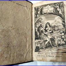 Libros antiguos: AÑO 1666: IL PASTOR FIDO, LE BERGER FIDELE. GUARINI.. Lote 194864545