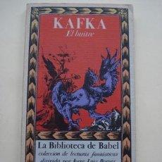 Libros antiguos: EL BUITRE, FRANZ KAFKA.. Lote 194907953