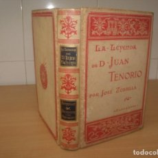 Libros antiguos: LA LEYENDA DE D. JUAN TENORIO, ZORRILLA, (FRAGMENTO), 1895, MONTANER Y SIMÓN, BARCELONA. Lote 194914540