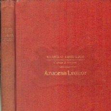 Libros antiguos: AZUZENA LEONOR. BRAEME, CARLOTA M. A-RASOP-177. Lote 195170008