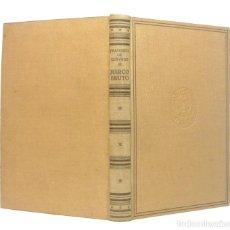 Libros antiguos: 1940 - FRANCISCO DE QUEVEDO: MARCO BRUTO - LUIS MIRACLE, ED. - PRIMERA EDICIÓN - TELA . Lote 195236343