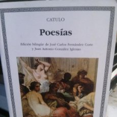 Libros antiguos: POESÍAS - CATULO.. Lote 195314171