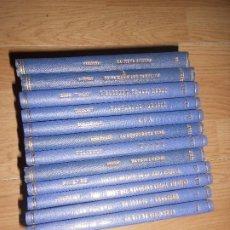 Libros antiguos: BIBLIOTECA UNIVERS - LOTE DE 12 LIBROS - TOLSTOI / DUMAS / MARK TWAIN / ETC....... Lote 195331515