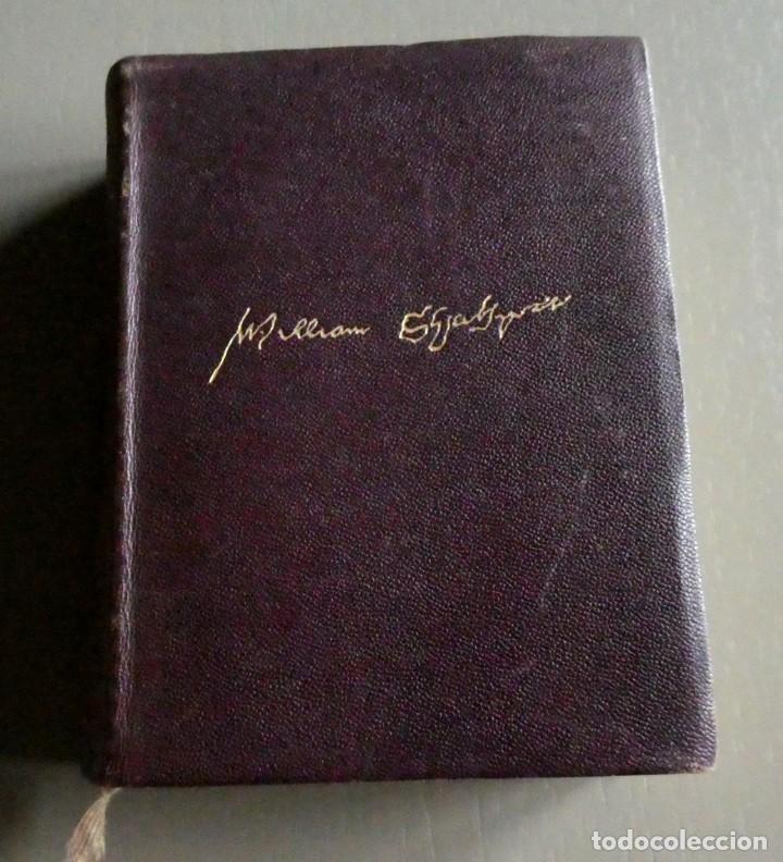 Libros antiguos: William Shakespeare. Obras completas. Ed Aguilar 1933. 3ª ed corregida. Col. Obras eternas - Foto 5 - 195337783