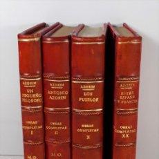 Libros antiguos: AZORÍN. 4 EJEMPLARES. VARIAS EDITORIALES. MADRID. 1913/1935.. Lote 195368890