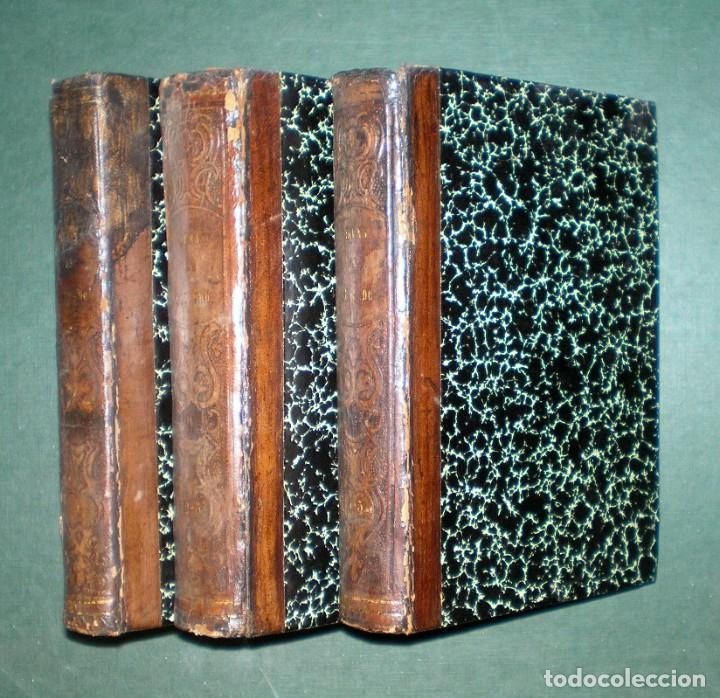 Libros antiguos: Obras de D. Francisco de Quevedo Villegas. 5 tomos encuadernados en 3 volúmenes. 1841-1845 - Foto 4 - 195370523