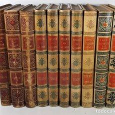 Libri antichi: EDITORES MONTANER Y SIMÓN. 10 EJEMPLARES. VARIOS AUTORES. BARCELONA.. Lote 195399117