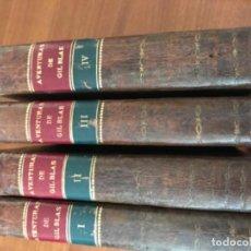 Libros antiguos: AVENTURAS DE GIL BLAS DE SANTILLANA ROBADAS A ESPAÑA...POR LE SAGE. MIGUEL Y TOMÁS GASPAR.1817. Lote 195490853