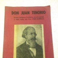 Libros antiguos: JOSE ZORRILLA - DON JUAN TENORIO (1940). Lote 195492711