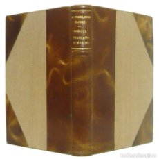 Libros antiguos: 1939 - WENCESLAO FERNÁNDEZ-FLÓREZ: POR QUÉ TE ENGAÑA TU MARIDO. NOVELAS - ENCUADERNACIÓN, PIEL. Lote 195493733