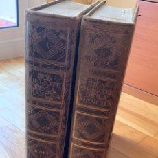 Libri antichi: L- EL INGENIOSO HIDALGO DON QUIJOTE DE LA MANCHA, TOMO I Y II. Lote 195542276