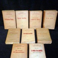 Libros antiguos: ARMANDO PALACIO BALDÉS. OBRAS COMPLETAS. LOTE DE 9 LIBROS. VICTORIANO SUAREZ, AÑOS 1921-26. Lote 195672720