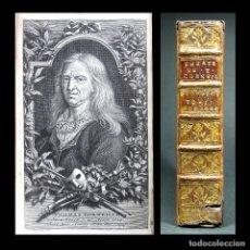 Libros antiguos: AÑO 1740 EL ASTRÓLOGO FINGIDO CORNEILLE CALDERÓN DE LA BARCA SOLO 1 EJEMPLAR EN ESPAÑA GRABADOS. Lote 195778577