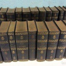 Libros antiguos: ALEJANDRO DUMAS. COLECCIÓN SELECCIONES EDITORIALES. 23 TOMOS. TAPA DURA. . Lote 195974660