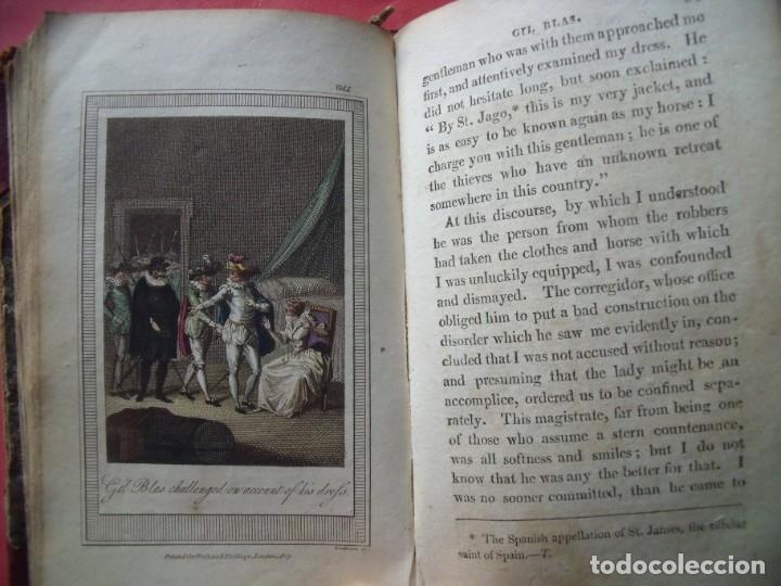 Libros antiguos: LESAGE.-MARTIN SMART.-LAS AVENTURAS DE GIL BLAS DE SANTILLANA.-GRABADOS.-COLOREADOS.-LONDRES.-1807. - Foto 7 - 196007231