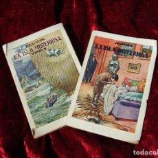 Libros antiguos: LA ISLA MISTERIOSA : PRECIOSA EDICIÓN DE JULIO VERNE DE 1934 EN BUEN ESTADO POR SÓLO DIEZ EUROS. Lote 196214738